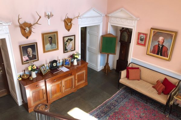 The main entrance hall of the Mansion House