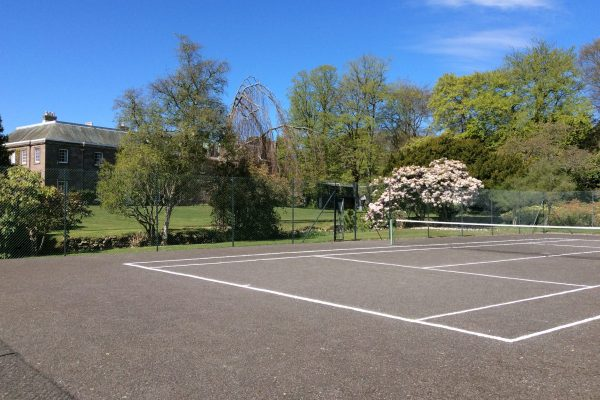 Tennis Court at The Burn