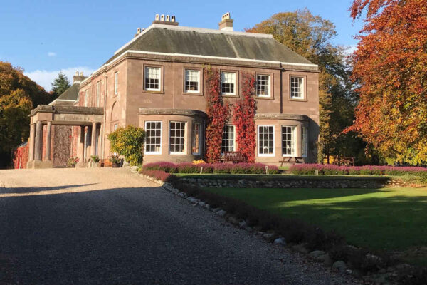 The Mansion house in autumn
