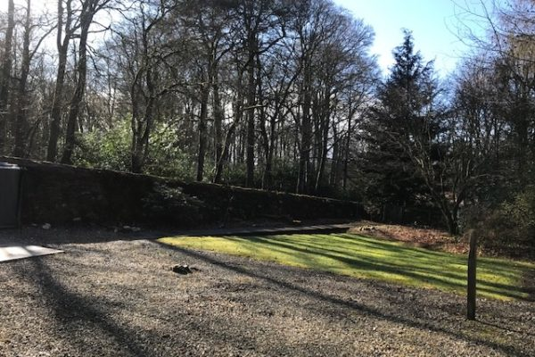South Lodge garden, The Burn